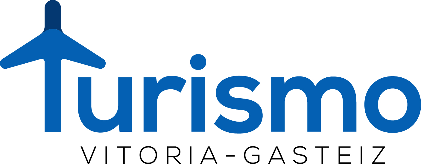 diseño paginas web en Vitoria Turismo Vitoria logo turismo en Vitoria-Gasteiz