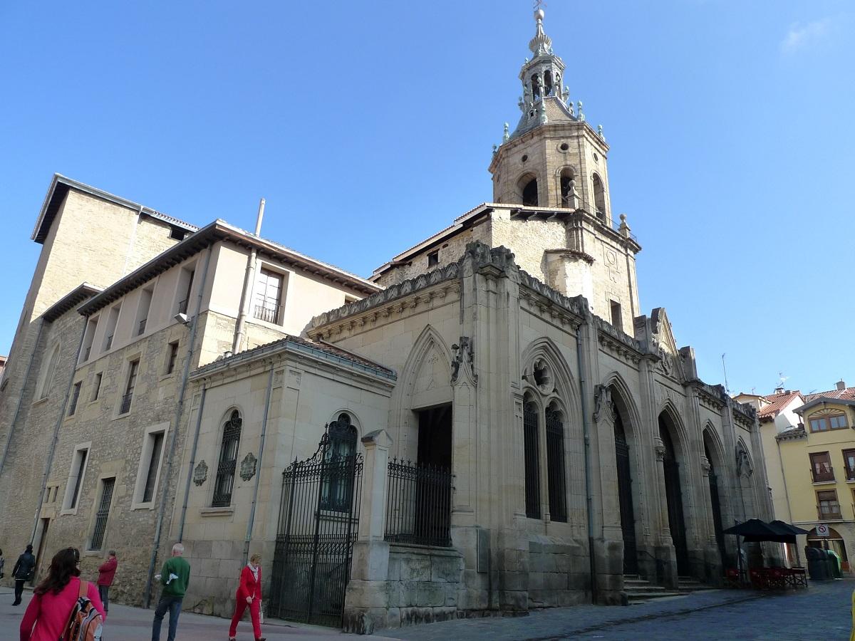 Las cuatro torres de Vitoria-Gasteiz san pedro