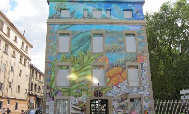 murales del casco viejo de Vitoria