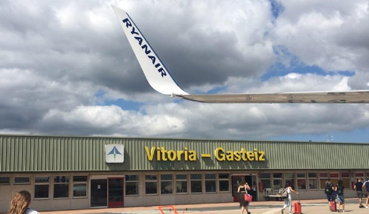 Aeropuerto de Foronda en Vitoria-Gasteiz.