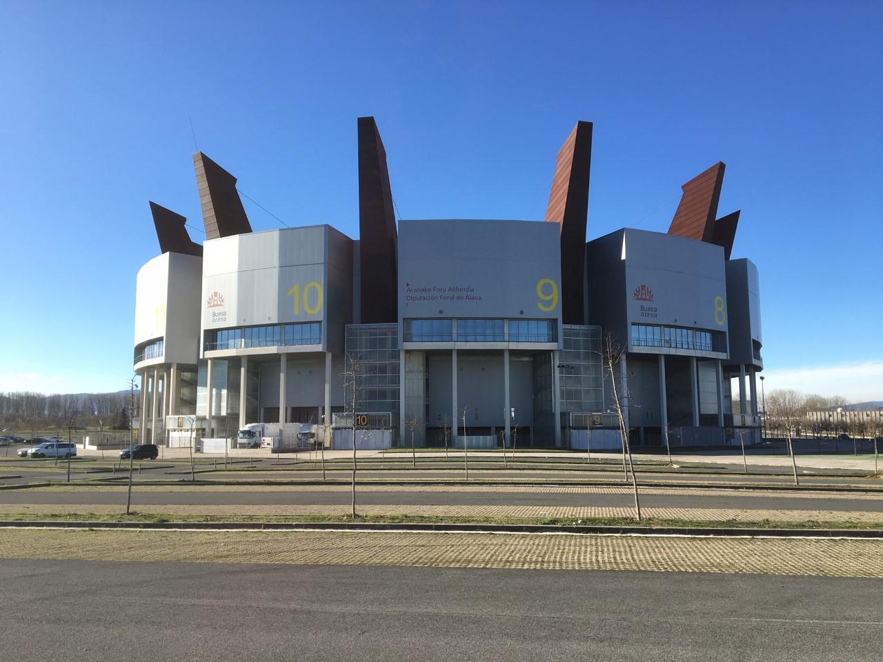 Buesa Arena en Vitoria-Gasteiz