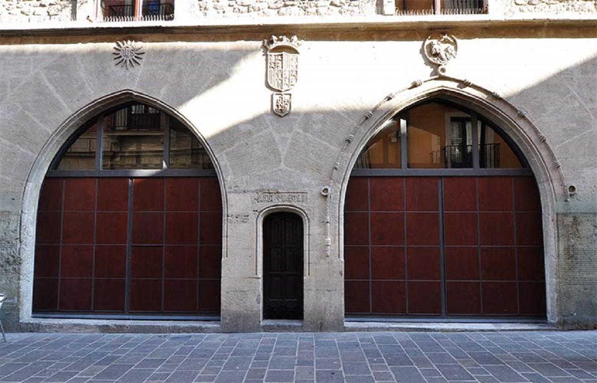 La casa del cordón en Vitoria-Gasteiz.