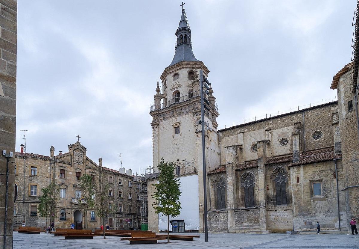 La Catedral de Santa María en Vitoria-Gasteiz, Catedral Vieja.