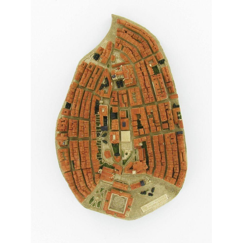 la almdendra medieval en Vitoria-Gasteiz casco viejo