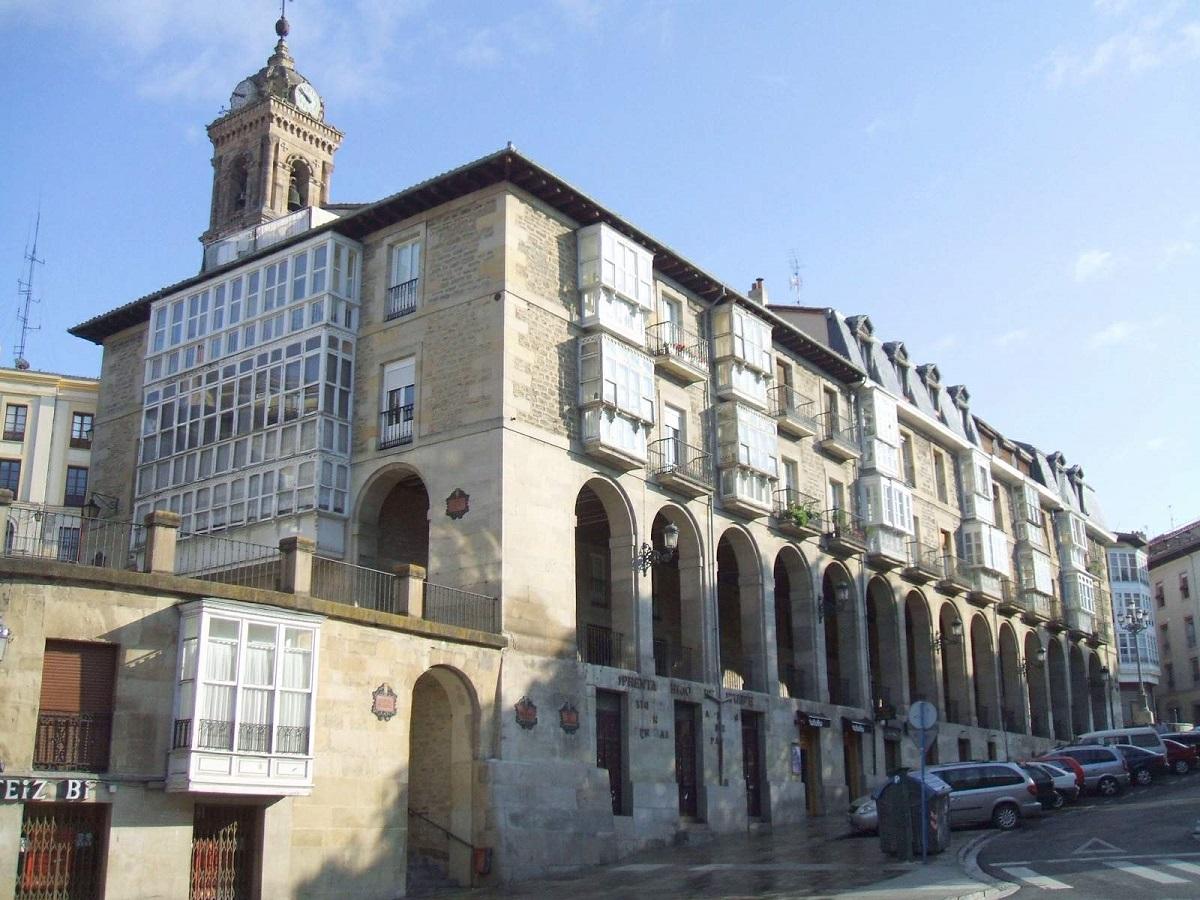 ver Los arquillos de Vitoria-Gasteiz.
