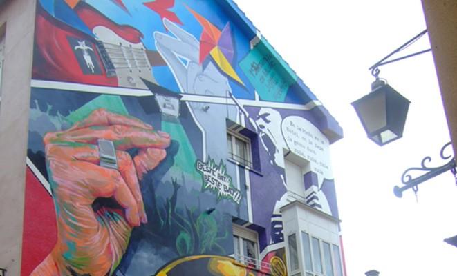 ruta de los murales en Vitoria-Gasteiz