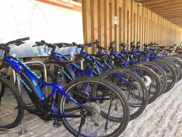 alquiler de bicis en Vitoria Ataria