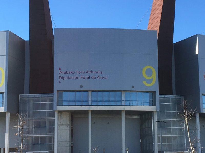 Buesa Arena en Vitoria